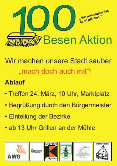 100 Besenaktion
